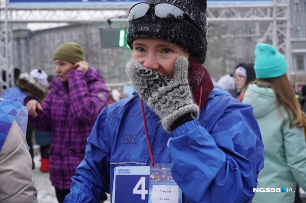 Мария Дружина уже не раз занимала призовые места как в Рождественском полумарафоне, так и на дистанциях Сибирского международного марафона