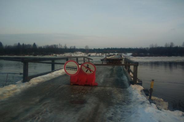 Повреждения на мостах закрыли доступ к десятку населённых пунктов