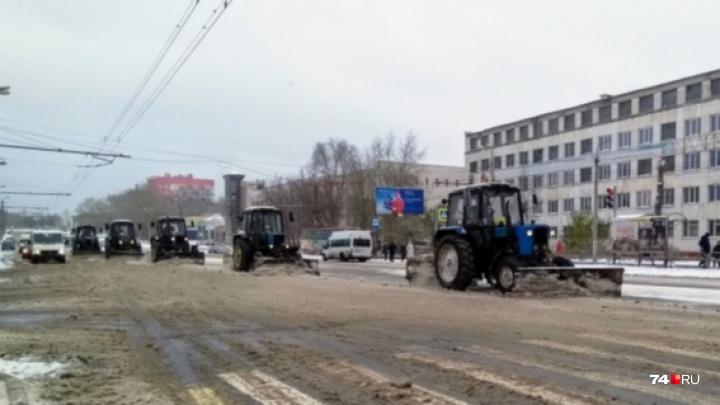 В Челябинске провели самый «вкусный» аукцион на уборку дорог. Кто получит три миллиарда