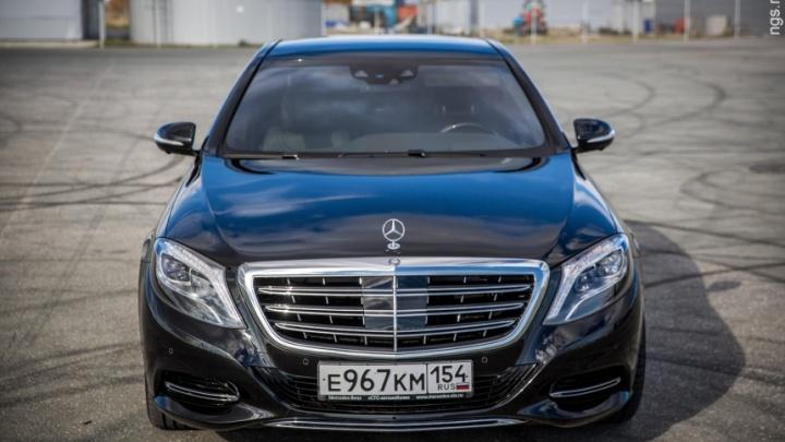 За май новосибирцы купили два роскошных автомобиля