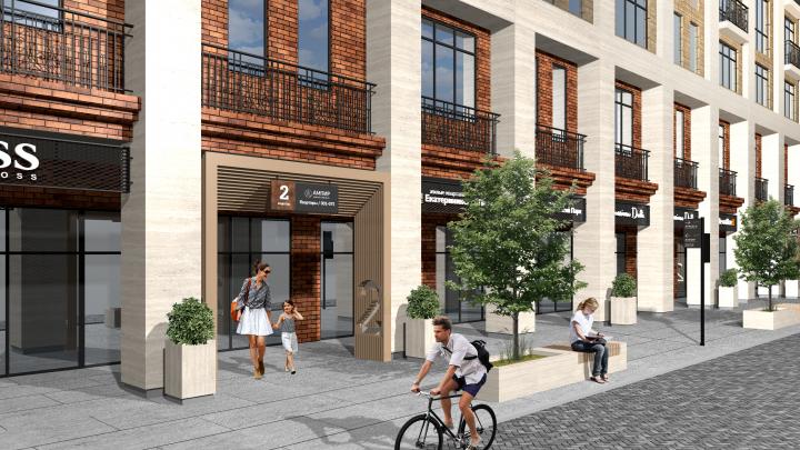 Город просит кирпича: изучаем проект нового микрорайона в центре и смотрим, как его строят