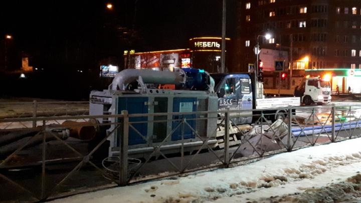 Участок улицы Гайдара в Архангельске перекроют из-за ремонта канализации