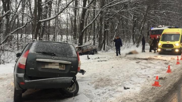 Массовое ДТП произошло под Нижним Новгородом. Есть погибшие