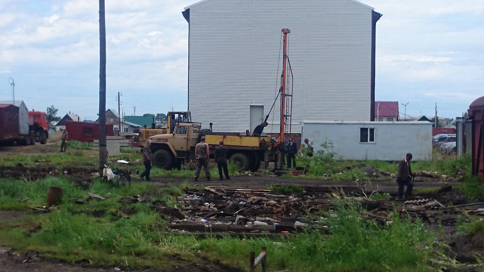 Строительство дома в квартале «Г» до сих пор не завершено