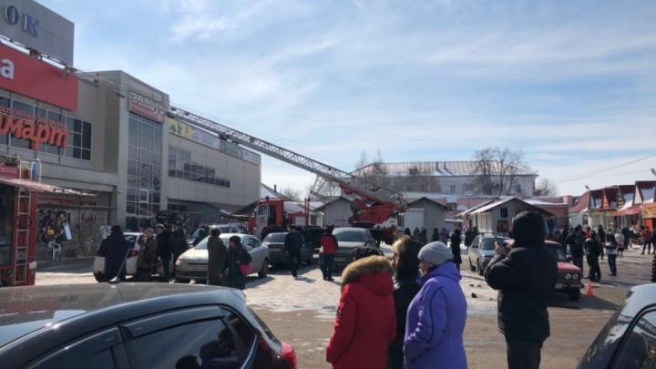 В торговых центрах Башкирии проверяют готовность к пожару