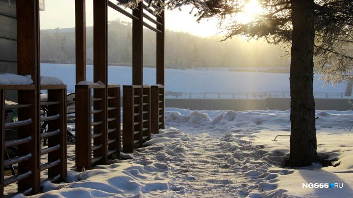 Рабочая неделя в Омске завершится резким похолоданием