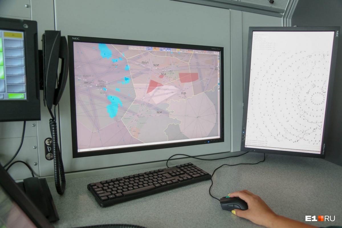 Работа авиадиспетчера чем-то напоминает компьютерную игру
