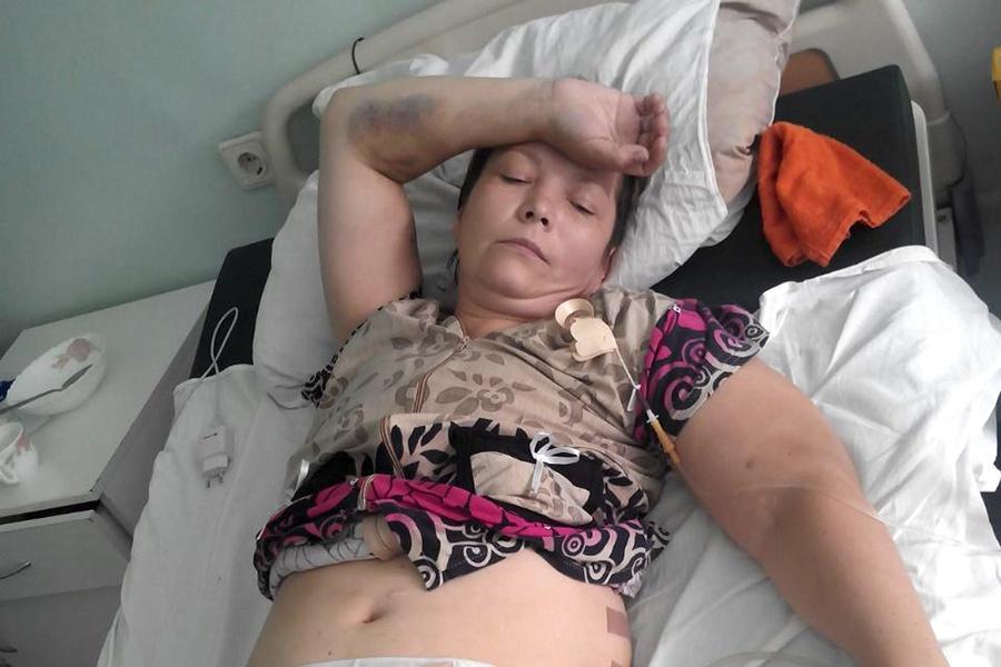 Оксана Бугояк после операции в Краснозёрской больнице оказалась в реанимации новосибирской облбольницы