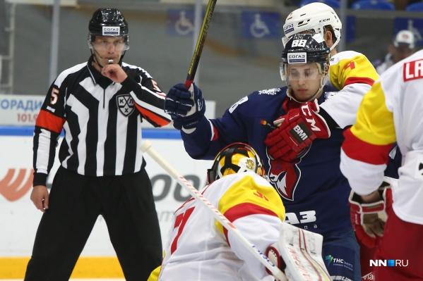 Нижегородские хоккеисты бились за победу до последнего