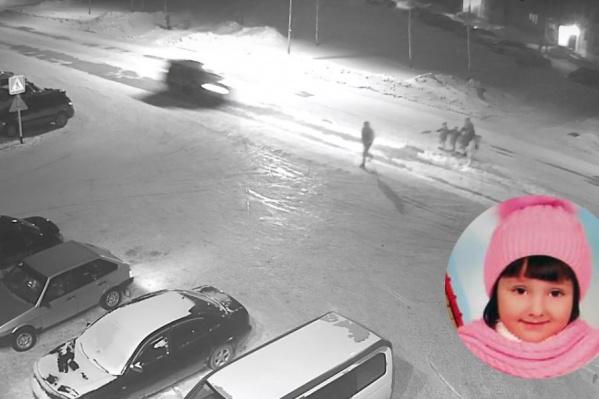 4-летняя Маша пострадала в ДТП в посёлке Линёво