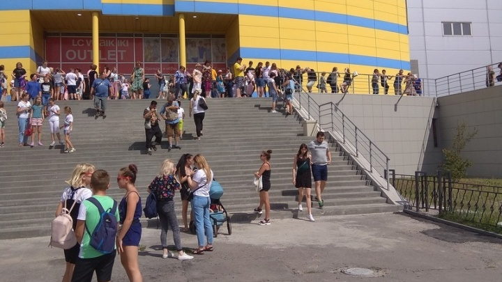 В Волгограде эвакуировали ТРК «Парк Хаус»