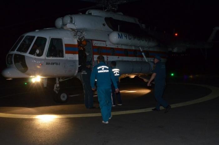 Яну доставили в Красноярск
