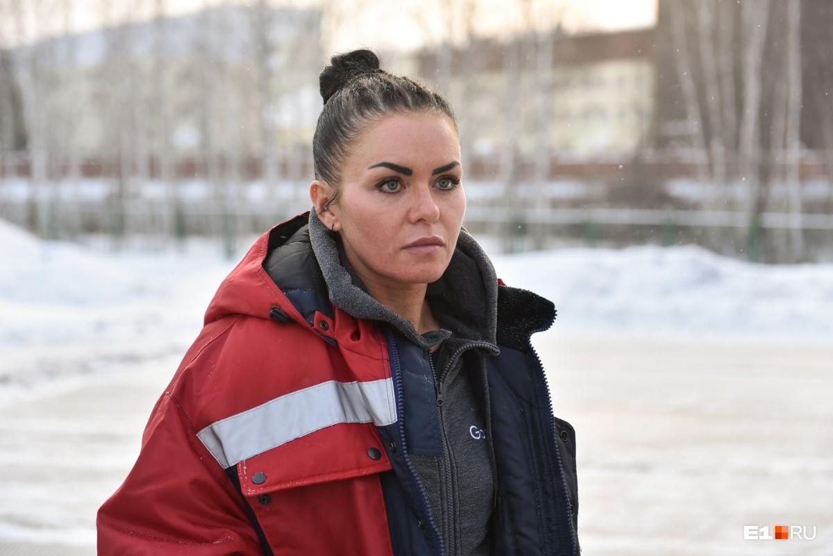 Анастасия Гильманова летает к пациентам на вертолете на каждом дежурстве
