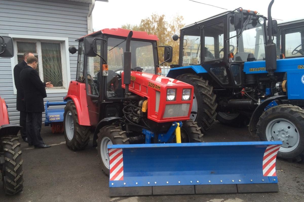 Появились новые трактора