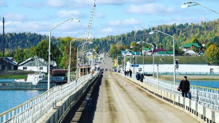 В Башкирии из-за морозов разбирают мост