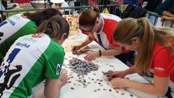 Складывали пазл — выиграли пазл: новосибирцы победили в чемпионате Европы по сбору мозаики