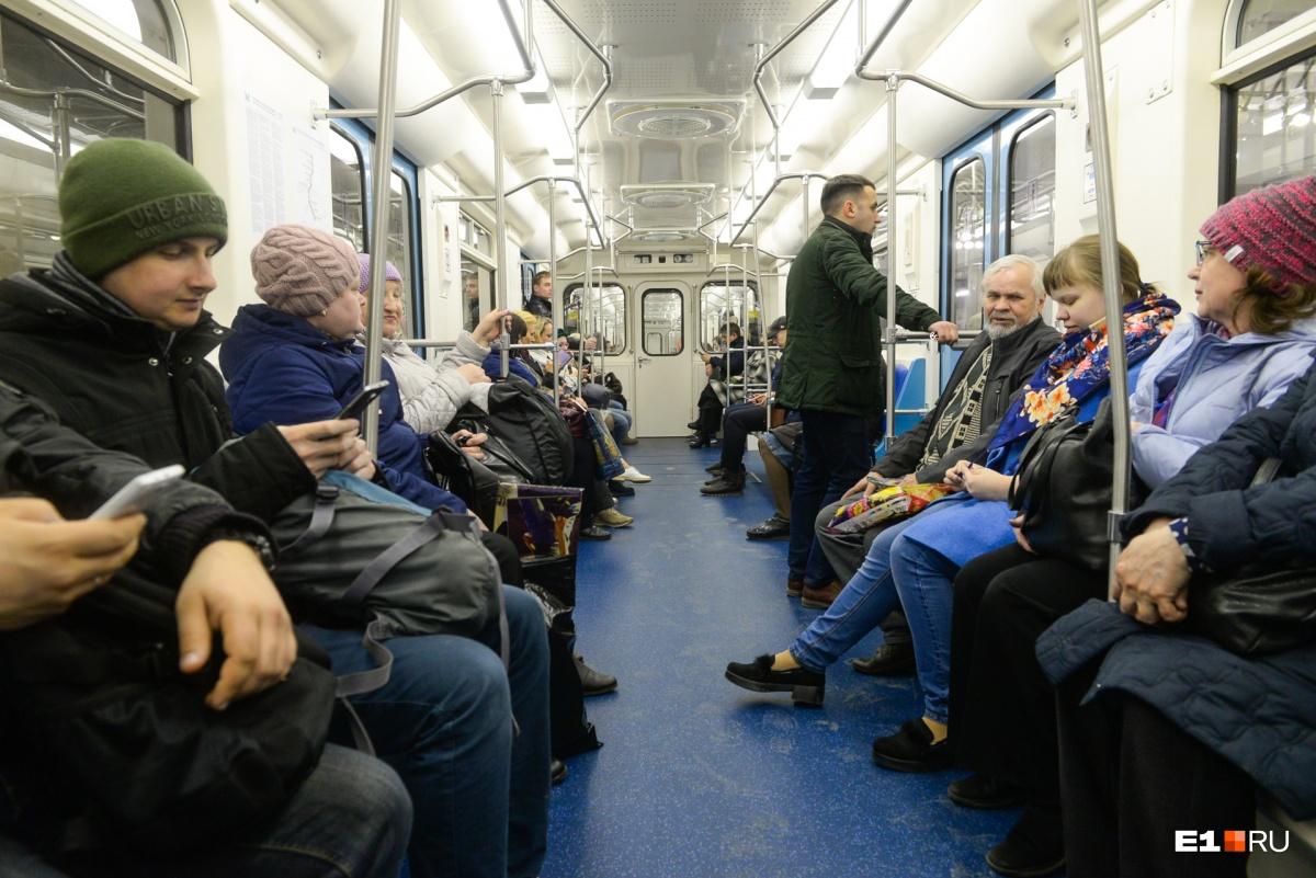 Первые пассажиры сели на Уралмаше