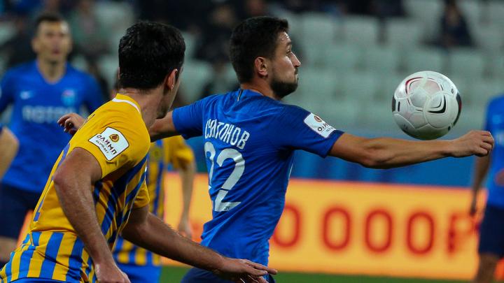 Две минуты — два гола: «Ротор» победил «Луч» на «Волгоград Арене» со счётом 2–0