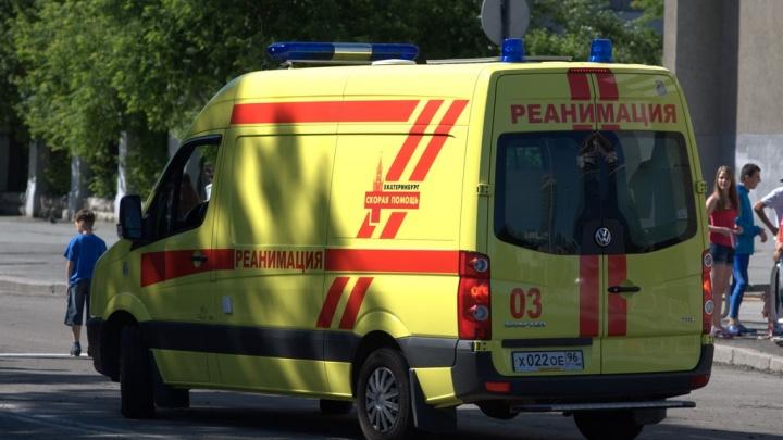 На Елизавете на 40-летнего мужчину рухнула стрела бетононасоса