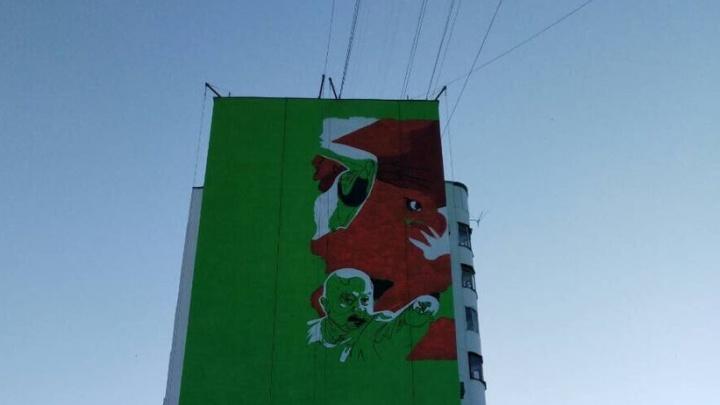 На фасаде дома по Ново-Садовой увековечат победу России над сборной Испании