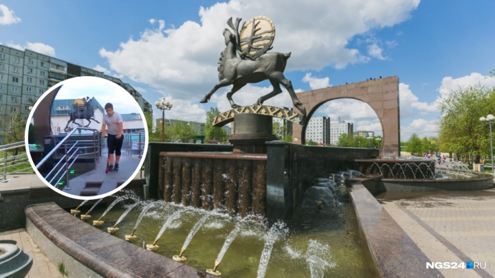 «Кто будет ремонтировать?»: дети устроили скейт-парк на фонтане в «Солнечном»