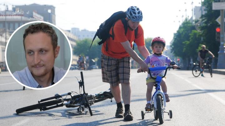 «Кто тебе сказал, что ты нормально ездишь?»: автоэксперт — о том, зачем в городе нужны велодорожки