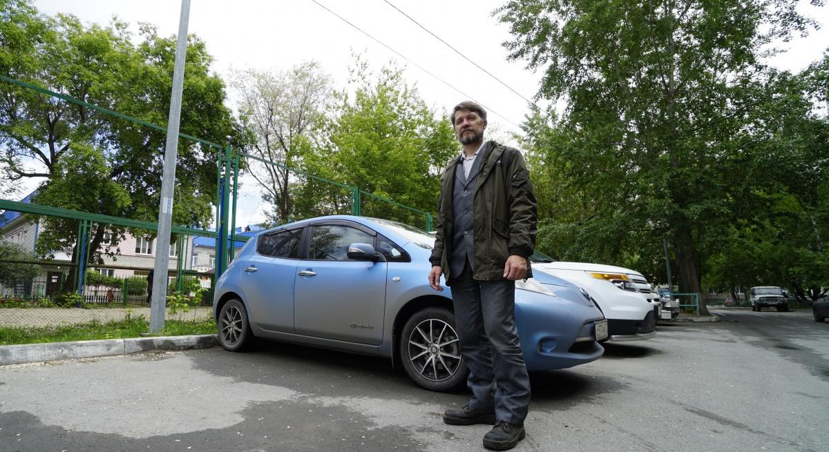 Андрей Чемякин работает в центре информационных технологий