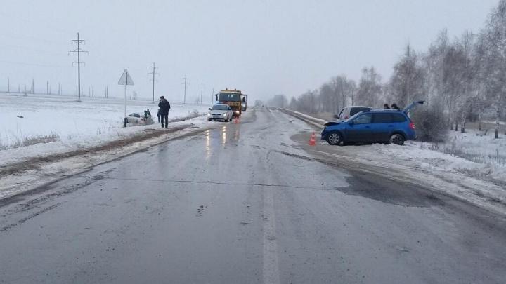 Пять пострадавших: под Тольятти столкнулись «Лада-Калина» и «Шевроле-Круз»