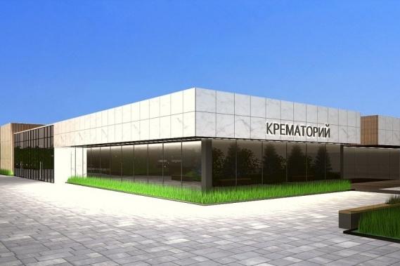 Один из вариантов крематория для размещения в Красноярске