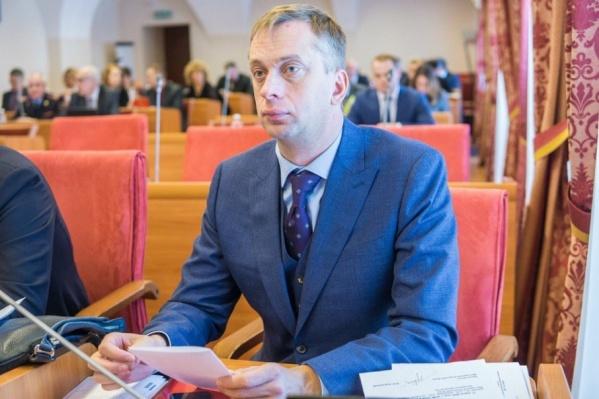 Павел Дыбин хотел пройти в новый созыв областной думы. Сейчас он под арестом