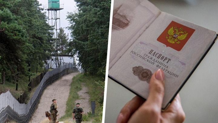 Новосибирского строителя оштрафовали за попытку сбежать из России с паспортом мёртвого брата