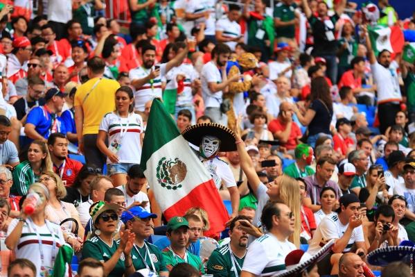 Сегодня в Ростове было много мексиканцев