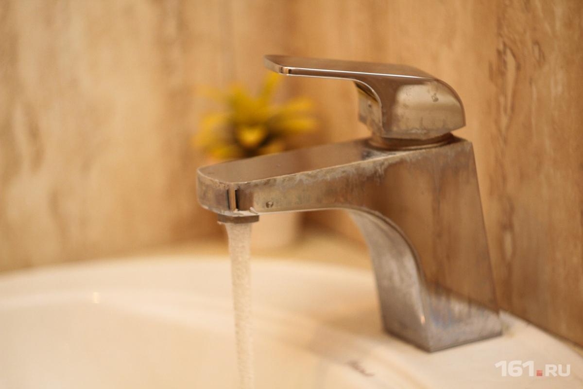 Треть проб воды в регионе не соответствует нормативам