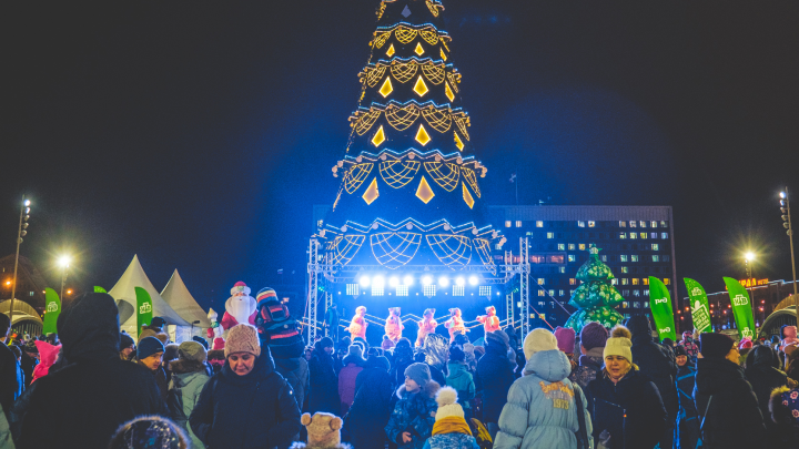 Фейерверк и музыкальное шоу: что и во сколько покажут в новогоднюю ночь на пермской эспланаде