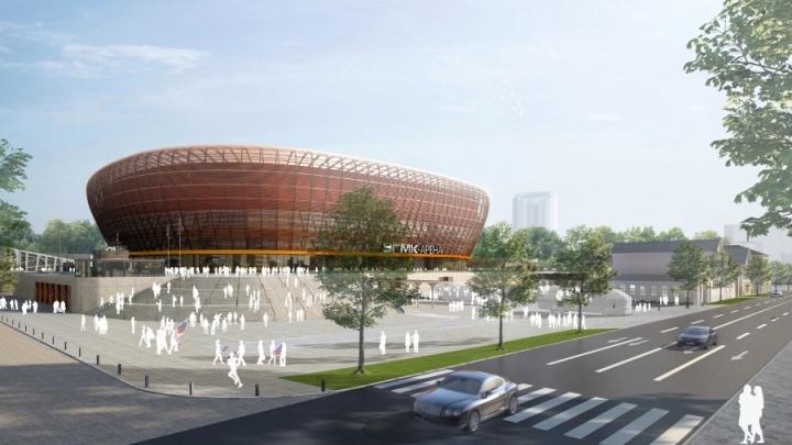 Екатеринбург подал заявку на проведение финальных игр ЧМ по волейболу на новой ледовой арене