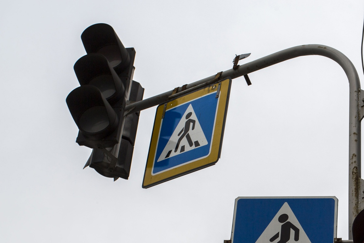 Светофоры перестали работать из-за повреждённых коммуникаций