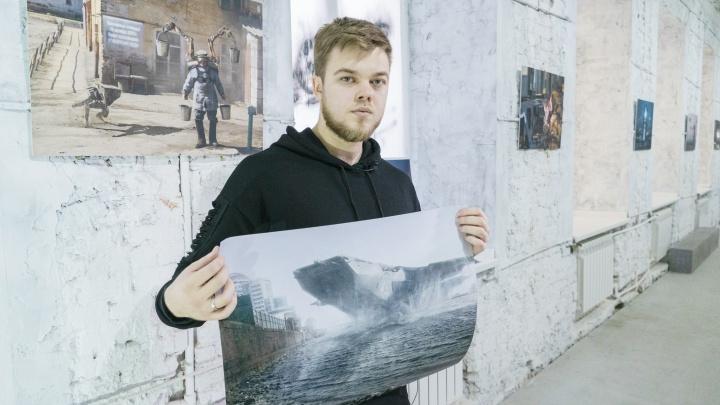 «В этом мире сложно оставаться в здравом уме»: ростовчанин Евгений Зубков — о проекте RUSSIA-2077