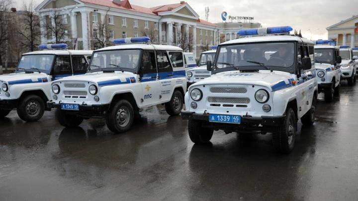 Полицейские Зауралья получили 38 новых служебных автомобилей