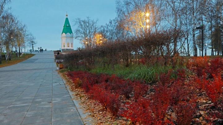 У часовни Параскевы Пятницы появился сквер в стиле Москвы