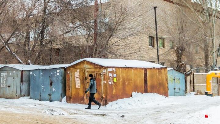 Миграция гаражей: незаконные постройки начали перевозить из одного района Самары в другой