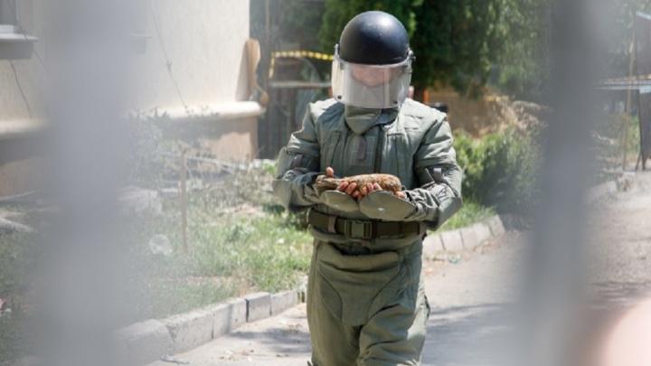 Хозяин частного дома в Волгограде спускал в подвал закрутки и наткнулся на противотанковую гранату