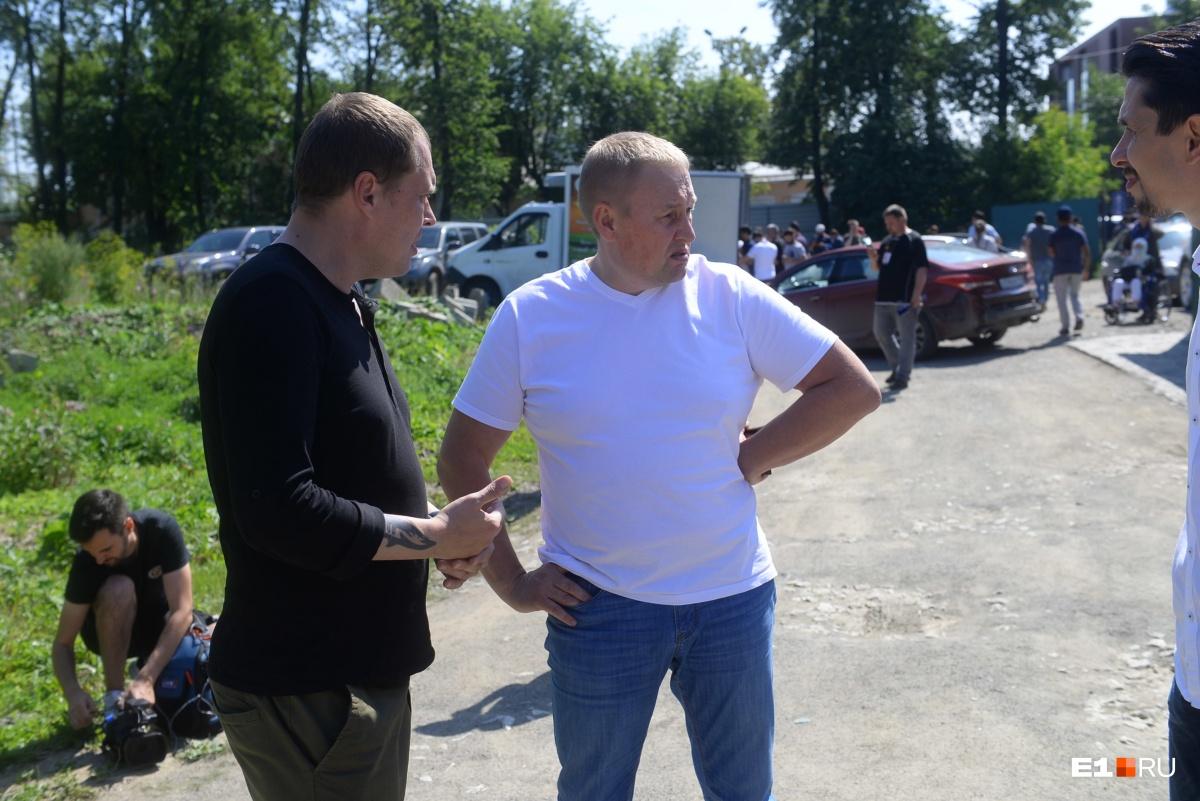 Депутат Госдумы Андрей Альшевских на встрече в мечети Екатеринбурга