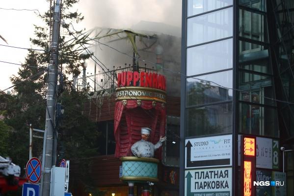 Пожар мог начаться из-за неисправности кондиционера