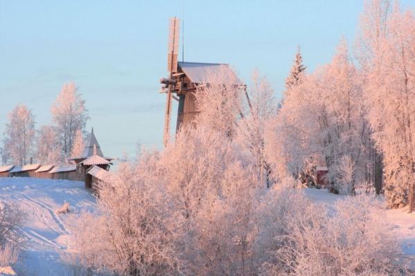 В музей мельница была перенесена из Онежского района в 1972 году