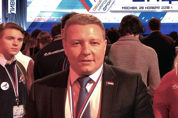 Аркадий Лазарев также является лидером движения «Дорога 63»