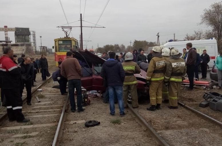 Авария произошла в утренний час пик перед улице Пушкина