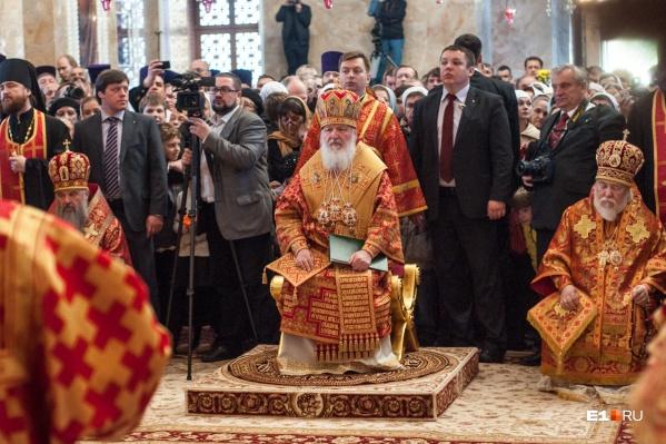 Патриарх Кирилл выразил надежду, что протесты не повторятся