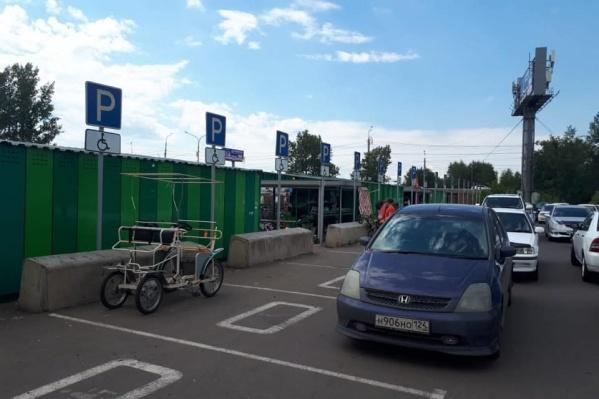 Инвентарь оставляют на месте для инвалидов
