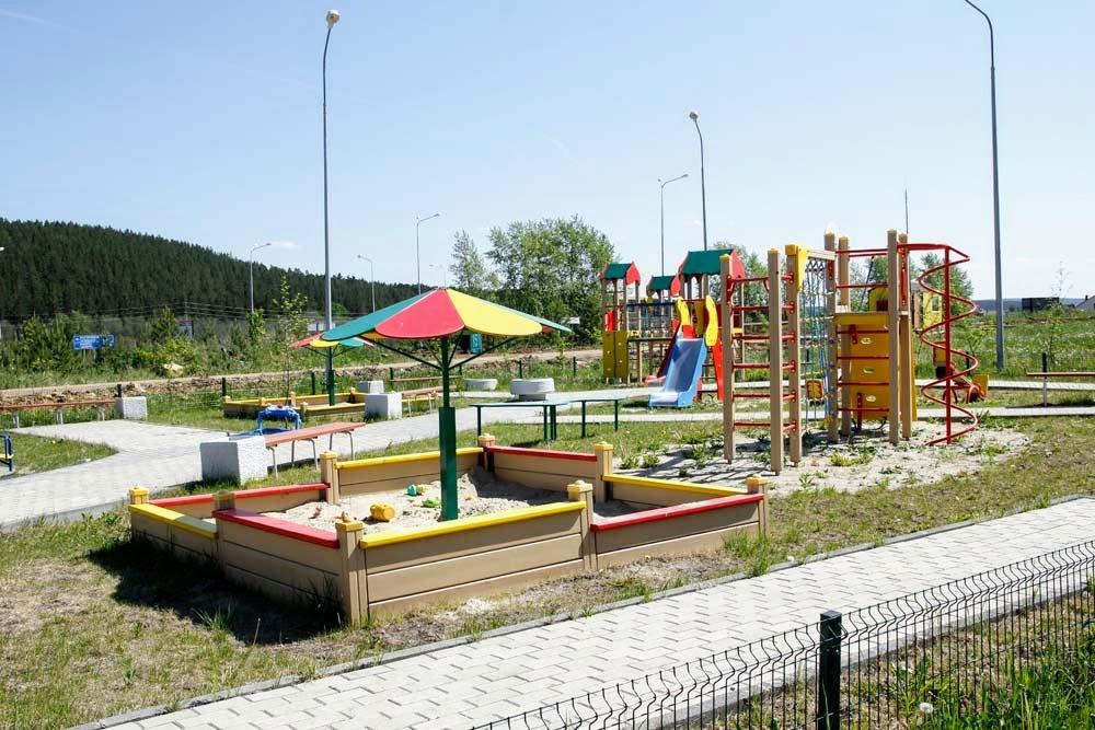 Детская площадка в КП «Николин ключ»