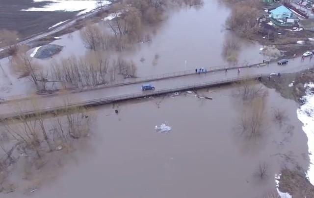 Мост через реку Уршак в Башкирии открыт